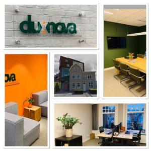 Nieuwe kantoor Dux Nova